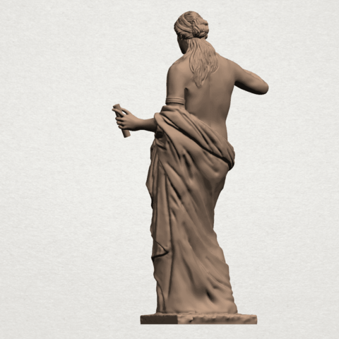 Naked Girl (xi) A04.png Download free STL file Naked Girl 11 • 3D printable model, GeorgesNikkei