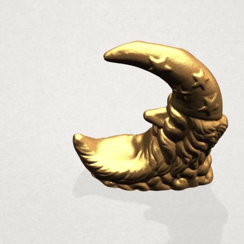 Moon - B04.png Télécharger fichier STL gratuit Lune • Design pour impression 3D, GeorgesNikkei