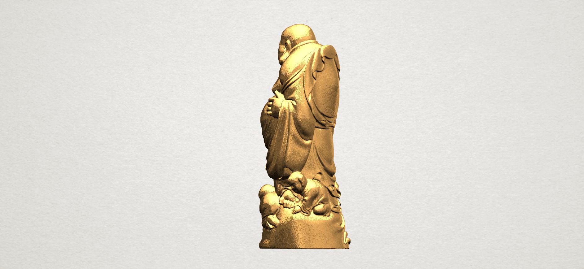 TDA0070 Metteyya Buddha 03 - 88mm - A04.png Download free STL file Metteyya Buddha 03 • 3D printing object, GeorgesNikkei