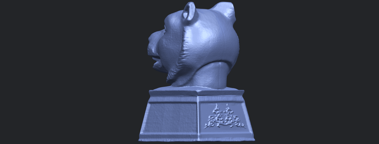 15_TDA0510_Chinese_Horoscope_of_Tiger_02B05.png Download free STL file Chinese Horoscope of Tiger 02 • 3D print object, GeorgesNikkei