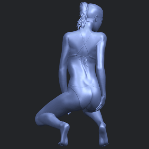 15_TDA0634_Naked_Girl_D04B07.png Download free STL file Naked Girl D04 • 3D printable template, GeorgesNikkei