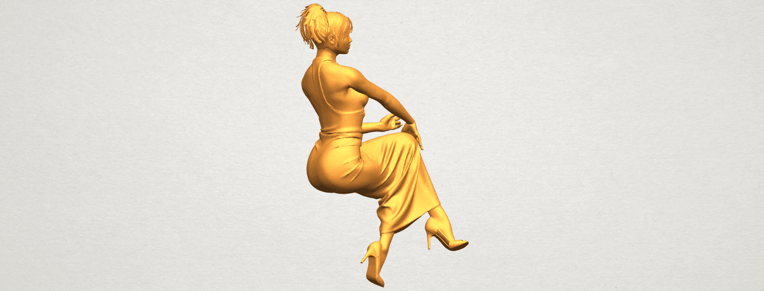 A01.png Download free STL file Naked Girl H09 • 3D printing model, GeorgesNikkei