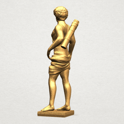 Michelangelo (ii) - A03.png Download free STL file Michelangelo 02 • Template to 3D print, GeorgesNikkei