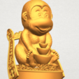 A11.png Download free STL file Monkey A05 • 3D print design, GeorgesNikkei
