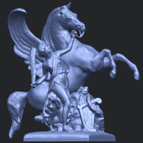 10_Horse_(v)_88.3mmB07.png Télécharger fichier STL gratuit Cheval 05 • Plan pour impression 3D, GeorgesNikkei