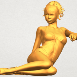 Free 3D printer designs Naked Girl F08, GeorgesNikkei