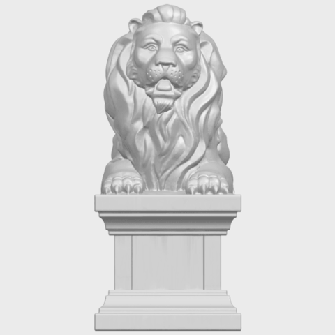 01_TDA0499_Lion_04A01.png Download free STL file Lion 04 • Template to 3D print, GeorgesNikkei