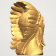 TDA0489 Red Indian 03 - Bust A05.png Download free STL file Red Indian 03 • 3D printer model, GeorgesNikkei