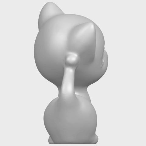 TDA0746_Cat_03A08.png Télécharger fichier STL gratuit Chat 03 • Modèle à imprimer en 3D, GeorgesNikkei