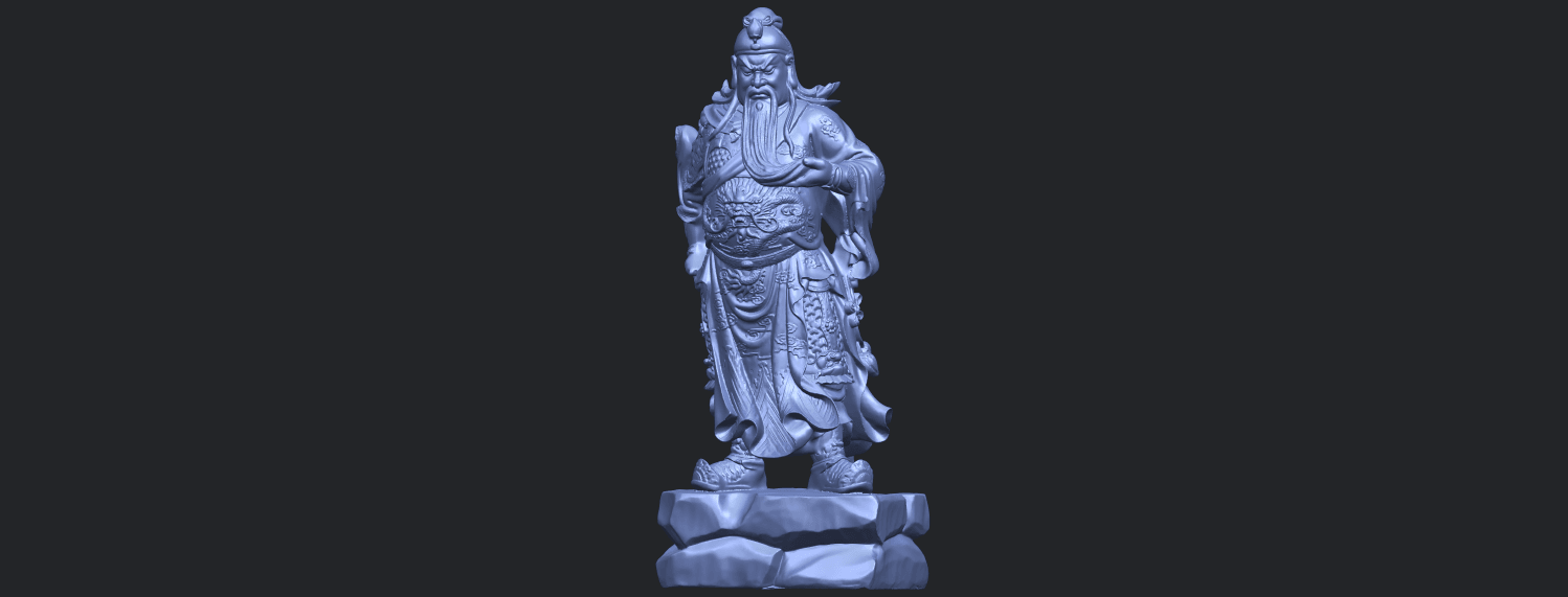 03_TDA0330_Guan_Gong_iiiB02.png Download free STL file Guan Gong 03 • 3D printable template, GeorgesNikkei