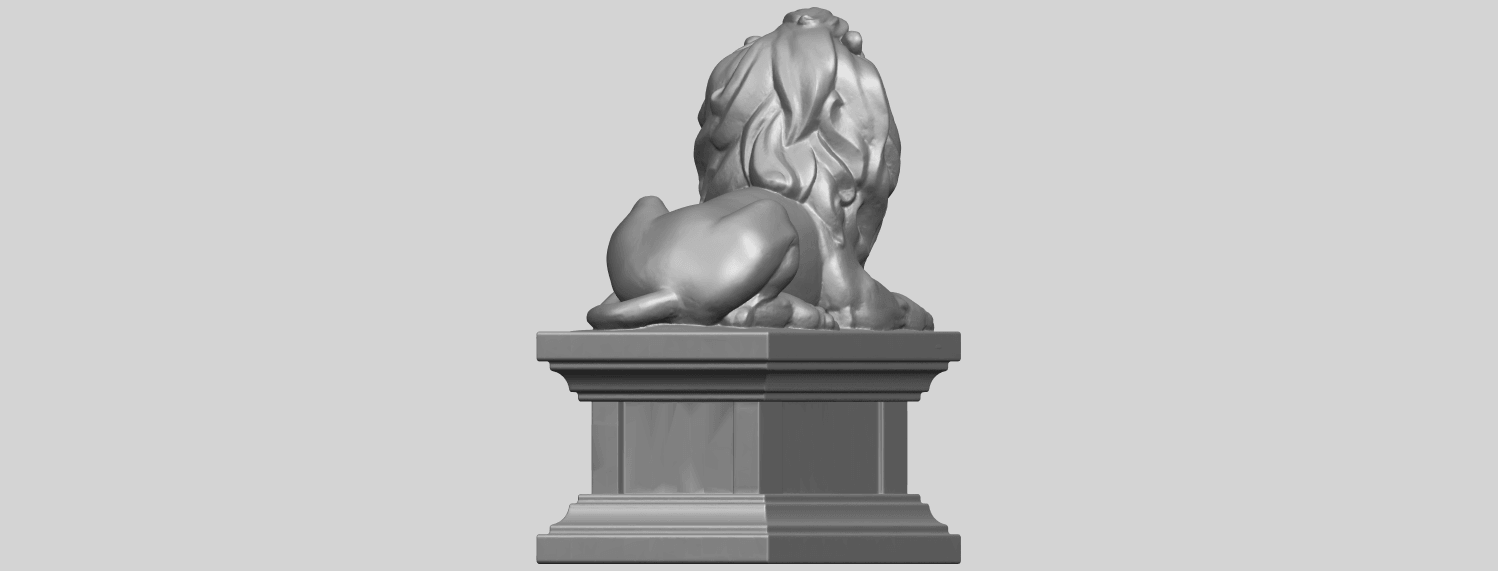 01_TDA0499_Lion_04A07.png Download free STL file Lion 04 • Template to 3D print, GeorgesNikkei