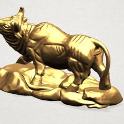 Download free 3D printer model Chinese Horoscope 02 Bull, GeorgesNikkei