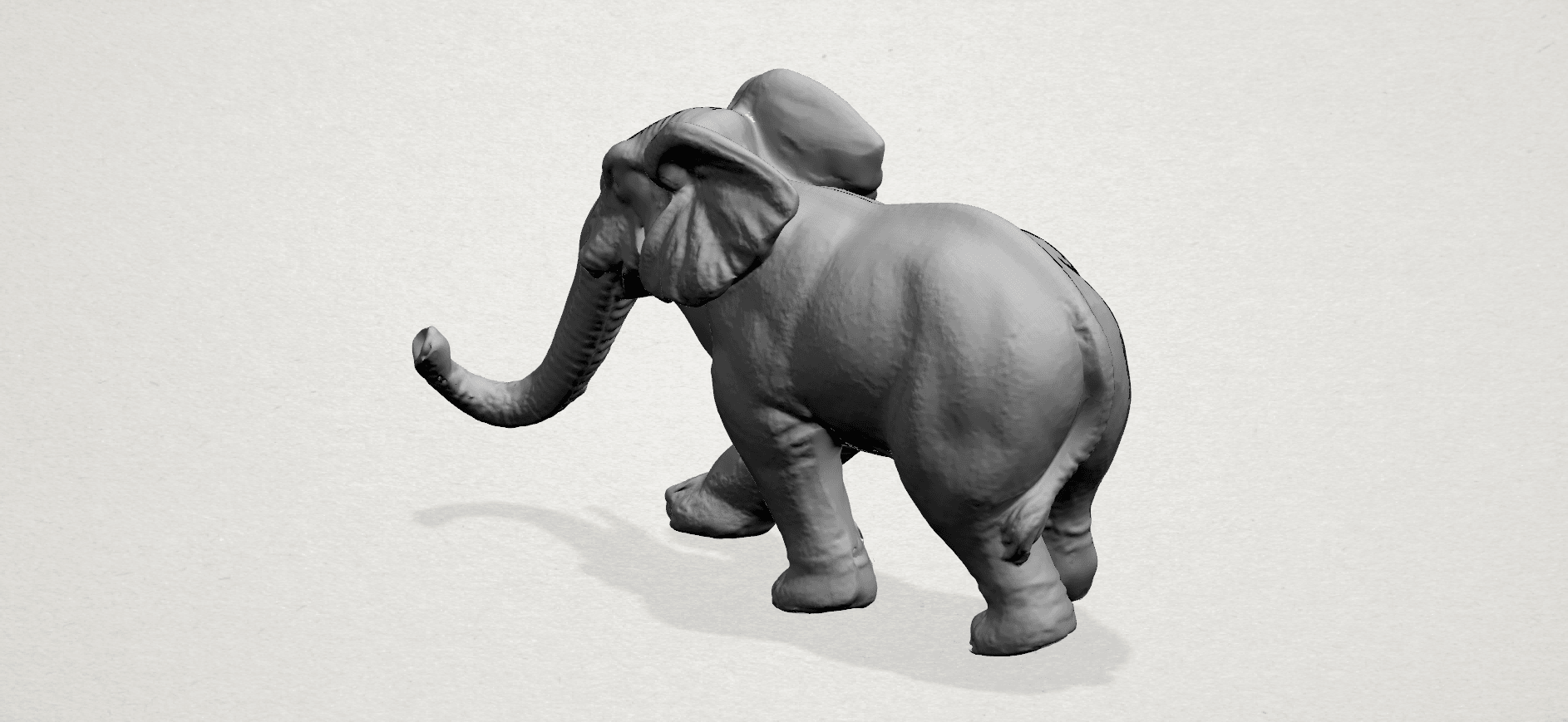 Elephant 01 -A02.png Download free STL file Elephant 01 • 3D printer design, GeorgesNikkei