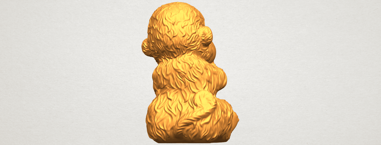 A07.png Download free STL file Monkey A04 • Model to 3D print, GeorgesNikkei