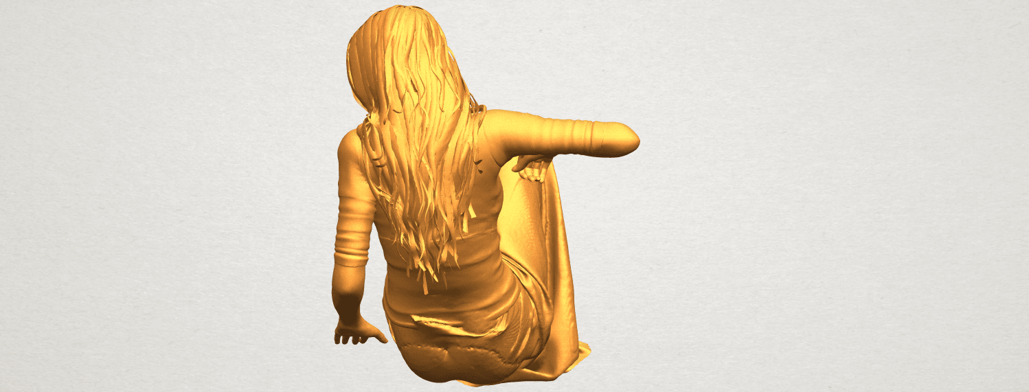 A05.png Download free STL file Naked Girl I03 • 3D printing object, GeorgesNikkei