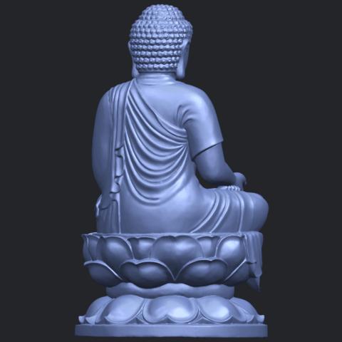 01_TDA0174_Gautama_Buddha_(ii)__88mmB07.png Download free STL file Gautama Buddha 02 • 3D print template, GeorgesNikkei