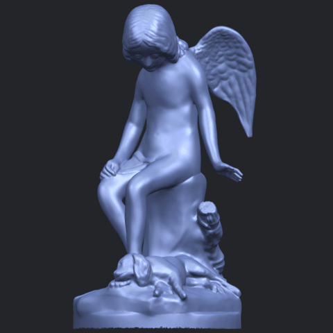 05_Angel_and_Dog_80mmB02.png Download free STL file Angel and Dog • 3D print model, GeorgesNikkei