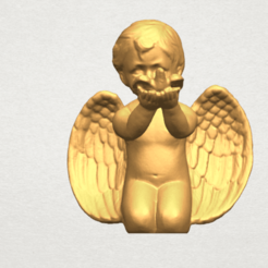 TDA0624 Angel Baby 05 free A01.png Download free STL file Angel Baby 05 free • Model to 3D print, GeorgesNikkei