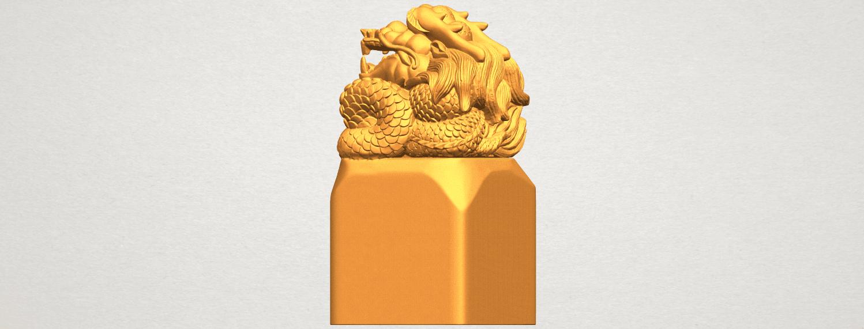 A02.png Télécharger fichier STL gratuit Timbre Dragon 01 • Objet à imprimer en 3D, GeorgesNikkei
