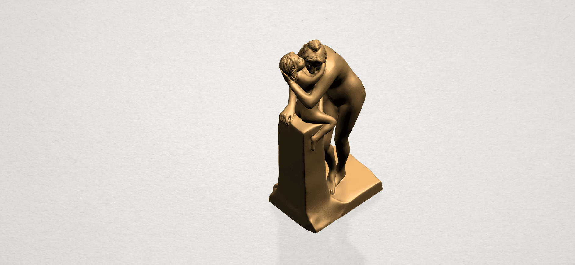 Mother-Child (i) A11.png Download free STL file Mother and Child 01 • 3D printing design, GeorgesNikkei