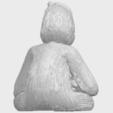 09_TDA0606_ChimpanzeeA07.png Télécharger fichier STL gratuit Chimpanzé • Design imprimable en 3D, GeorgesNikkei
