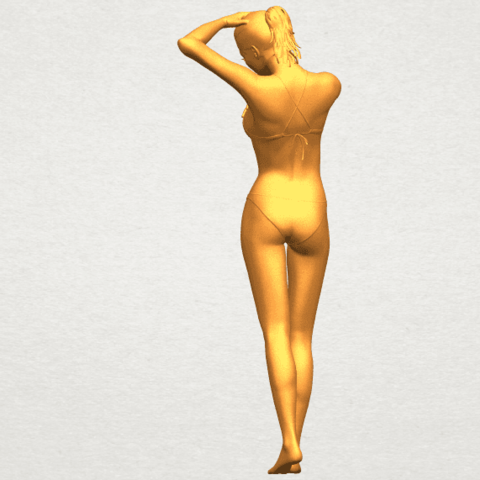 05.png Download free STL file Naked Girl D03 • 3D printing template, GeorgesNikkei