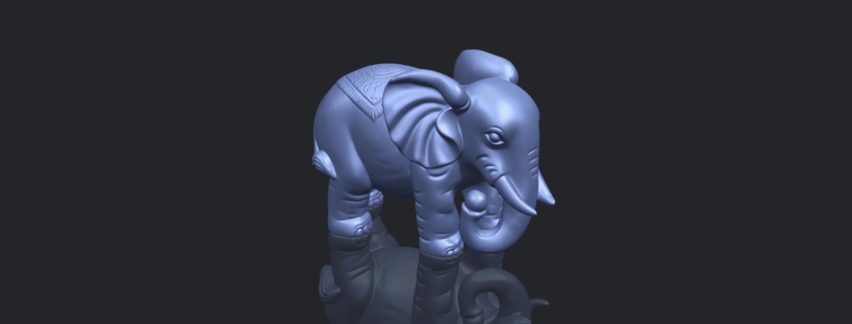 Elephant_03_-122mmB00-1.png Télécharger fichier STL gratuit Éléphant 03 • Modèle imprimable en 3D, GeorgesNikkei