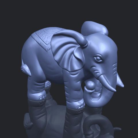 Elephant_03_-122mmB00-1.png Download free STL file Elephant 03 • 3D printable design, GeorgesNikkei