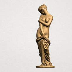 Free 3D print files Naked Girl - Bathing03, GeorgesNikkei