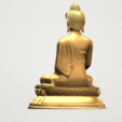 Thai Buddha (iii) A05.png Download free STL file Thai Buddha 03 • 3D printing object, GeorgesNikkei