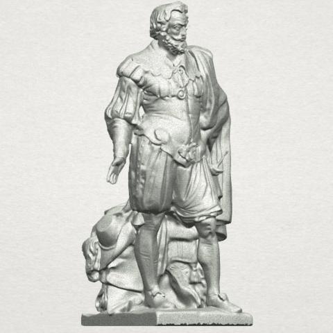 TDA0264 Peter Paul Rubens A07.png Télécharger fichier STL gratuit Peter Paul Rubens • Modèle pour imprimante 3D, GeorgesNikkei