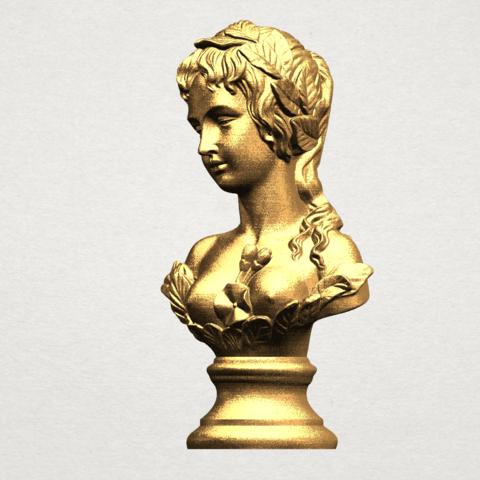 Bust of Venus 80mm - A02.png Download free STL file Bust of Venus • 3D print model, GeorgesNikkei