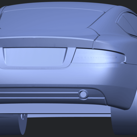 TDB006_1-50 ALLA04.png Download free STL file Aston Martin DB9 Coupe • 3D printer template, GeorgesNikkei