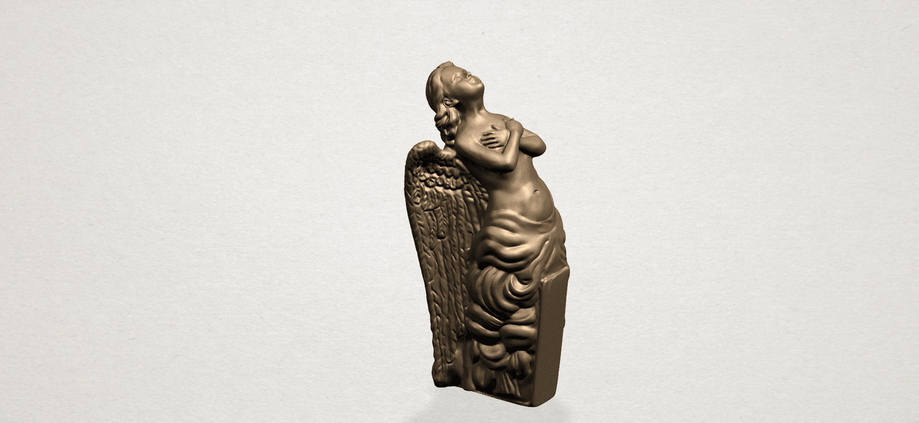 Angel (iii) A01.png Download free STL file Angel 03 • 3D printable object, GeorgesNikkei