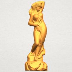 Fichier STL Naked Girl - Bathing 07, Miketon