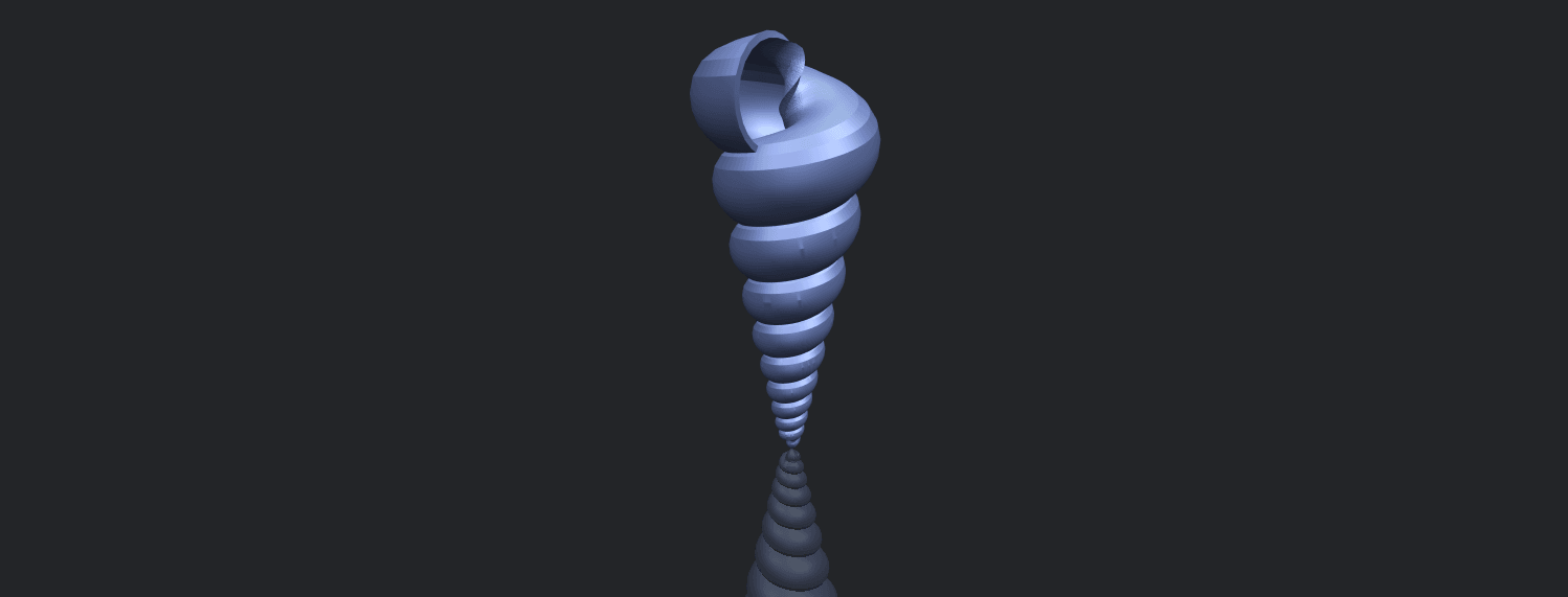 20_TDA0487_spiral_shellB00-1.png Download free STL file spiral shell • Object to 3D print, GeorgesNikkei