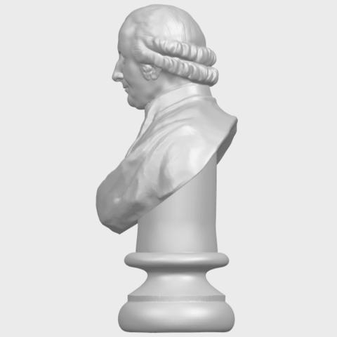 24_TDA0620_Sculpture_of_a_head_of_man_02A04.png Télécharger fichier STL gratuit Sculpture d'une tête d'homme 02 • Design à imprimer en 3D, GeorgesNikkei