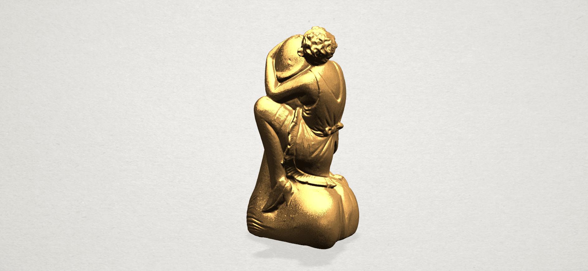 Alice hugging Dick - C02.png Download free STL file Alice hugging Dick • 3D printer design, GeorgesNikkei