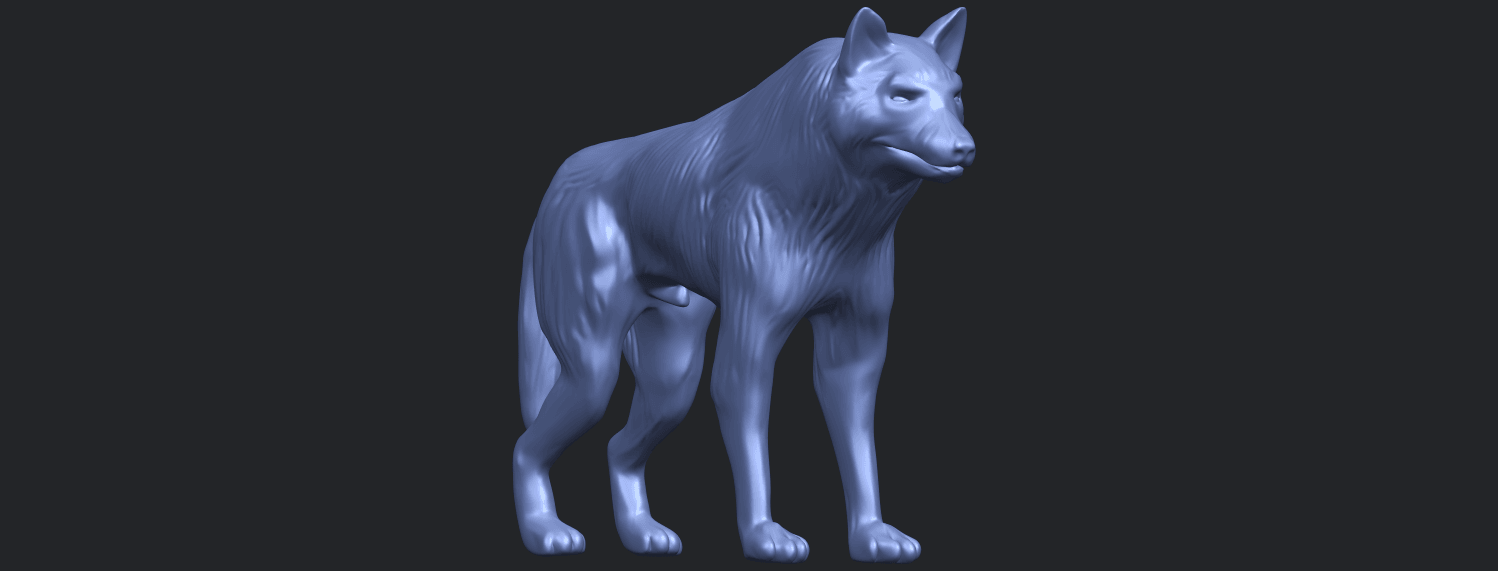 14_TDA0610_WolfB08.png Download free STL file Wolf • 3D printable design, GeorgesNikkei