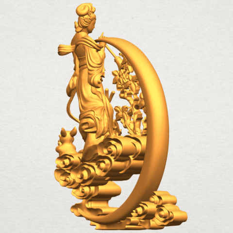 A08.png Download free STL file Fairy 09 • Model to 3D print, GeorgesNikkei