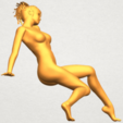 A09.png Download free STL file Naked Girl G01 • 3D printable template, GeorgesNikkei