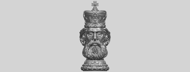 06_TDA0254_Chess-The_KingA01.png Télécharger fichier STL gratuit Chess-Le roi des échecs • Objet pour impression 3D, GeorgesNikkei