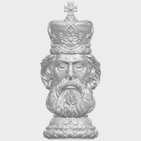 06_TDA0254_Chess-The_KingA01.png Download free STL file Chess-The King • 3D printer model, GeorgesNikkei