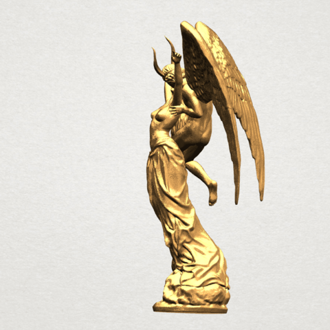 Angel and devil - C02.png Download free 3DS file Angel and devil • 3D print template, GeorgesNikkei