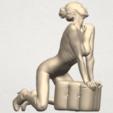 TDA0290 Naked Girl B07 05.png Télécharger fichier STL gratuit Fille Nue B07 • Objet pour imprimante 3D, GeorgesNikkei