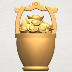 Download free STL Gold in Bucket, GeorgesNikkei