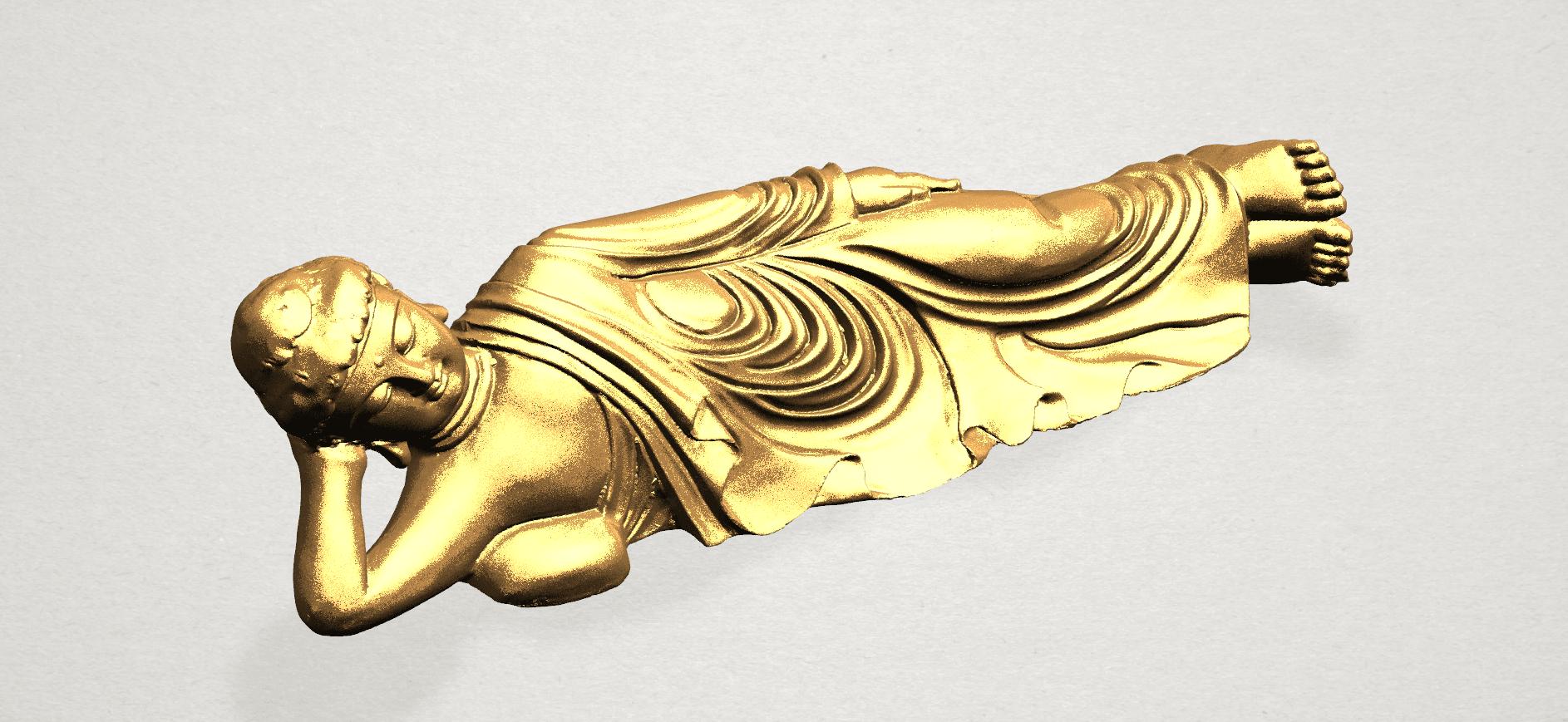 Sleeping Buddha (i) A07.png Download free STL file Sleeping Buddha 01 • 3D printable design, GeorgesNikkei