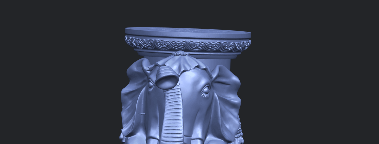 11_TDA0501_Elephant_TableA10.png Download free STL file Elephant Table • 3D printing object, GeorgesNikkei
