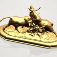 Bull (iii) A07.png Télécharger fichier STL gratuit Taureau 03 • Plan imprimable en 3D, GeorgesNikkei