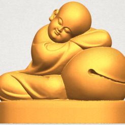 Download free 3D printing designs Little Monk 02, GeorgesNikkei